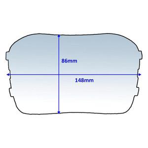 Weldclass 148x86mm Clear Outer Lens Suit Speedglas 100 (776000) - 10Pk - P7-CLSG1/10