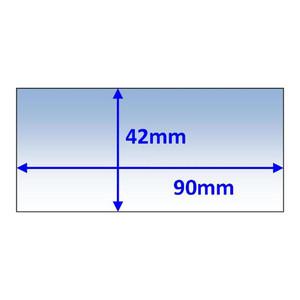 Weldclass 90x42mm Inner Lens Suit Speedglas 100/900f/900v (428000) - 5Pk - P7-CL9042/5