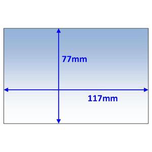 Weldclass 117x77mm Inner Lens Suit Speedglas 9100xx (528025) - 5Pk - P7-CL11777/5