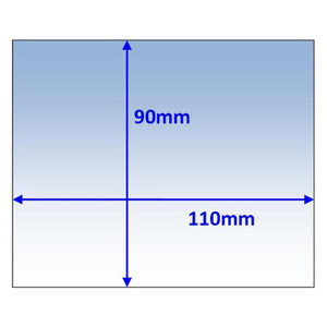 Weldclass 110x90mm Universal Clear Outer Lens - 10Pk - P7-CL11090/10