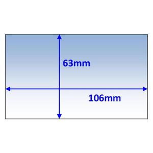 Weldclass 106x63mm Inner Lens Suit Platinum 60, WIA View FX & Miller Elite - 5Pk - P7-CL10663/5