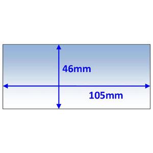 Weldclass 105x46mm Inner Lens Suit Cigwled Weldskil (454309) - 5Pk - P7-CL10546/5