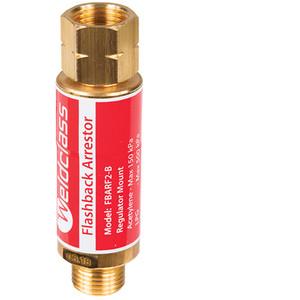 Weldclass AS4603 Regulator Mount Acetylene/LPG Flash Back Arrestor - P4-FBARF2