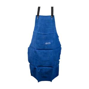 Weldclass Leather Welding Apron - Blue - 900 x 600mm - 8-LAX01