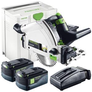 Festool TSC 55 160 mm Cordless Plunge Cut Saw Plus Li - 575018