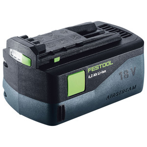 Festool 18V 6.2Ah Battery Pack with AIRSTREAM - 201774