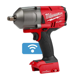 """Milwaukee M18 FUEL ONE-KEY 1/2"""" High Torque Impact Wrench with Friction Ring 'Skin' - M18ONEFHIWF12-0"""