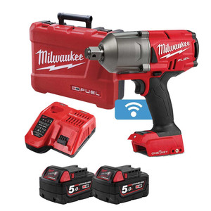 "Milwaukee M18 FUEL™ ONE-KEY™ 3/4"" High Torque Impact Wrench w/ Friction Ring Kit - M18ONEFHIWF34-502C"