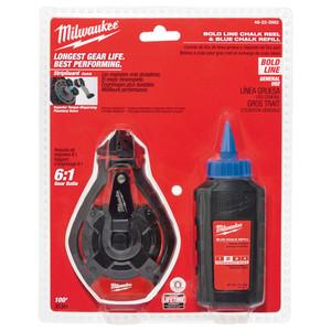 Milwaukee 30m Bold Line Kit w/ Blue Chalk - 48223982