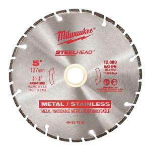 """Milwaukee 5"""" SteelHead™ Diamond Cut-Off - 49937810"""