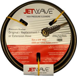 Jetwave 15m Extension Hose Cold Water High Pressure Cleaner - 40290