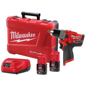 Milwaukee M12 FUEL™ 13mm Hammer Drill/Driver Kit - M12FPD-202C