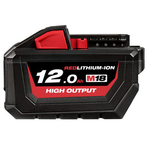 Milwaukee M18 REDLITHIUM-ION High Output 12.0Ah Battery Pack - M18HB12