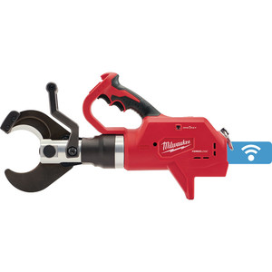 """Milwaukee M18 FORCELOGIC 75mm (3"""") Underground Cable Cutter w/ Wireless Remote (Tool Only) - M18HCC75R-0C"""