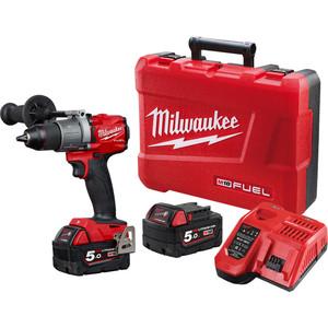 Milwaukee M18 FUEL™  13mm Hammer Drill/Driver Kit - M18FPD2-502C
