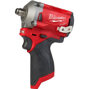 """Milwaukee M12 FUEL™ 1/2"""" Stubby Impact Wrench (Tool Only) - M12FIWF12-0"""
