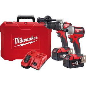 Milwaukee M18™ Brushless 2 Piece Power Pack 2A2 - M18BLPP2A2-402C