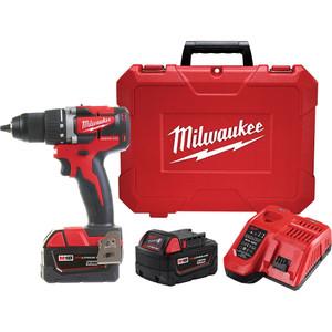 Milwaukee M18™ Compact Brushless 13mm Drill/Driver Kit - M18CBLDD-302C