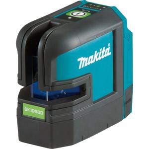 Makita 12V Max Green 4-point Cross Line Laser - SK106GDZ