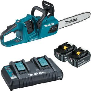 """Makita 36V(18Vx2) 400mm(16"""") Brushless Chainsaw Kit - DUC405PT2"""