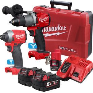 Milwaukee M18 FUEL™ ONE-KEY™ 2 Piece Power Pack 2A2 with Bonus M12 2.0Ah Battery - M18ONEPP2A2-502C