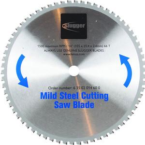 Fein 355mm x 25.4mm Mild Steel Metal Cut Off Saw Blade - 66 Teeth - 63502014600