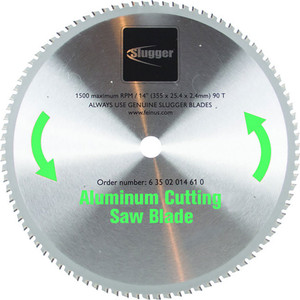 Fein 355mm x 25.4mm Aluminium Metal Cut Off Saw Blade - 80 Teeth - 63502014610