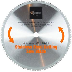 Fein 355mm x 25.4mm Stainless Steel Metal Cut Off Saw Blade - 90 Teeth - 63502014620