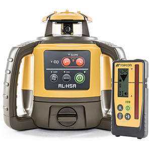 Topcon RL-H5A Rechargeable With LS-100D Laser Receiver - 1021200-10