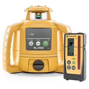 Topcon RL-H5B With LS-100D Laser Receiver - 1021200-32
