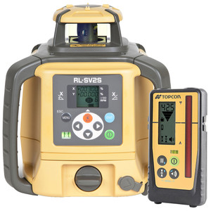 Topcon RL-SV2S Rechargeable With LS-100D Laser Receiver - 313990772