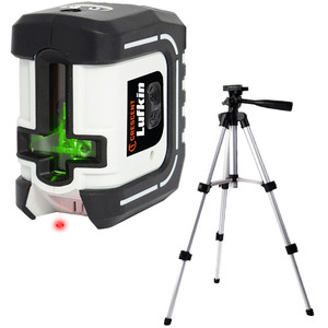 Lufkin Self Levelling Green Laser Level with Tripod - LCL35G