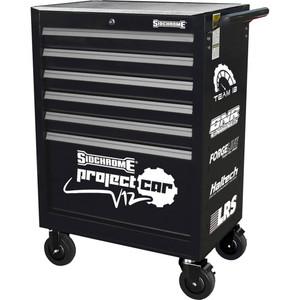 """Sidchrome 27"""" 6 Drawer  Roller Cabinet - SCMT50206ST"""