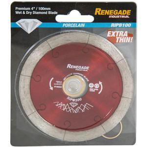 "Renegade Industrial 100mm(4"") Premium Porcelain Tile Blade 15300RPM - RIPB100"