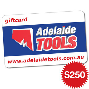 Adelaide Tools Gift Card - $250
