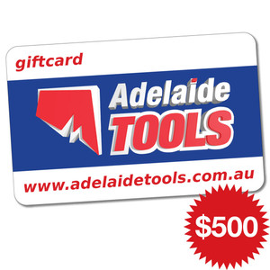 Adelaide Tools Gift Card - $500