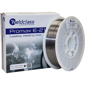 Weldclass Promax E-21 Gasless Welding Wire 0.8mm 4.5kg - WC-00259
