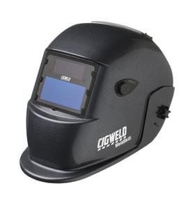 Cigweld WeldSkill Auto-Darkening Helmet – Carbon Fibre - 454314