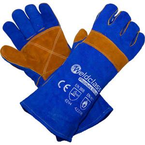Weldclass 400mm PROMAX BLUE Welding Gloves  - WC-01775