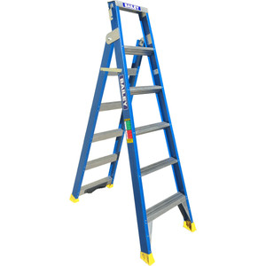 Bailey Professional Fibreglass Dual Purpose Stepladder with Pole Support 3.8/5.4M - FS13670