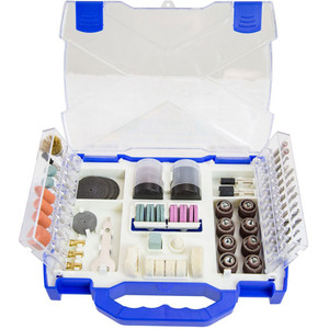Renegade Industrial 145Pc Rotary Tool Accessory Kit In Hard Case - RRAK145