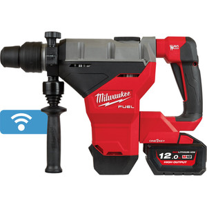 Milwaukee M18 FUEL® 44mm SDS Max Rotary Hammer Kit with ONE-KEY™ - M18FHM-122C