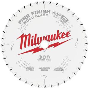 "Milwaukee 6-1/2"" 165mm 40T FINE FINISH Blade - 48408622"
