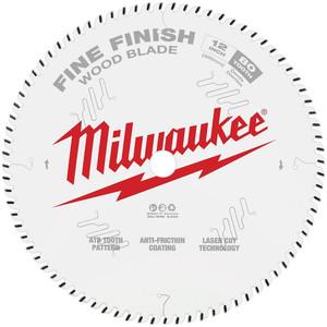 "Milwaukee 12"" 305mm 80T FINE FINISH Blade - 48408224"