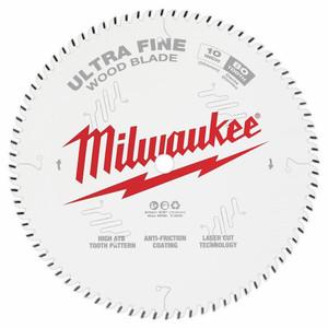 "Milwaukee 10"" 254mm 80T ULTRA FINE Blade - 48408032"
