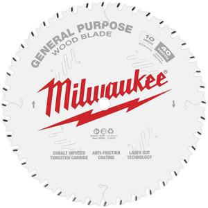 "Milwaukee 10"" 254mm 40T GENERAL PURPOSE Blade - 48408024"