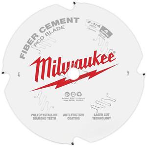 "Milwaukee 7-1/4"" 184mm PCD/FIBRE CEMENT Blade - 48409000"