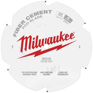 "Milwaukee 10"" 254mm PCD/FIBRE CEMENT Blade - 48409010"