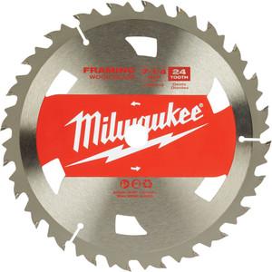 "Milwaukee 7-1/4"" 184mm 24T BASIC FRAMING Blade - 48418710"