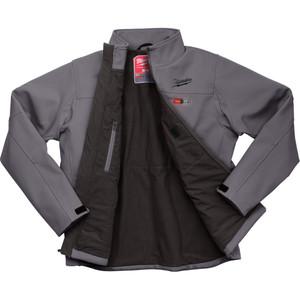 Milwaukee M12 Heated Jacket Grey XXL - M12HJGREY9-0XXL